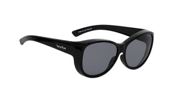 Ugly Fish Polarised P406 Over Sunglasses Black Frame Smoke Lens
