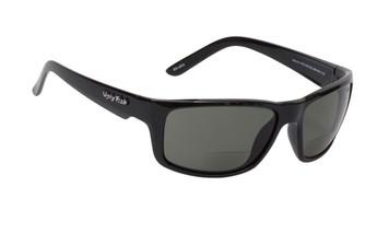 Ugly Fish Polarised Bifocal 2.00 Sunglasses Xenon PN3252 Black Frame Smoke Lens