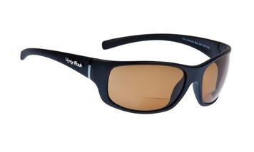 Ugly Fish Polarised Bifocal 1.50 Sunglasses Eclipse PN3411 Matt Black Frame Brown Lens