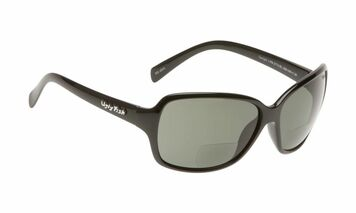 Ugly Fish Polarised Bifocal 2.00 Sunglasses Twilight PN3774 Black Frame Smoke Lens