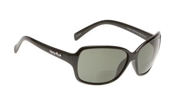 Ugly Fish Polarised Bifocal 2.50 Sunglasses Twilight PN3774 Black Frame Smoke Lens