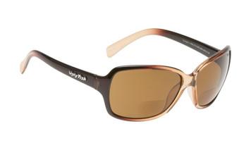 Ugly Fish Polarised Bifocal 2.00 Sunglasses Twilight PN3774 Brown Frame Brown Lens