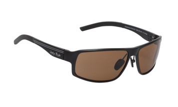 Ugly Fish Polarised Nylon Avalanche Sunglasses PN24203 Black Frame Brown Lens
