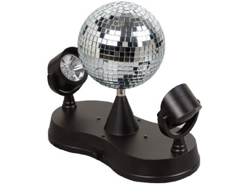 Precision Audio Rotating Disco Mirror Ball