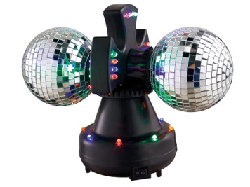 Precision Audio 5 inch Double Disco Mirror Ball