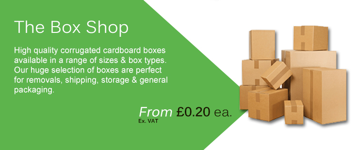Corrugated cardboad boxes available