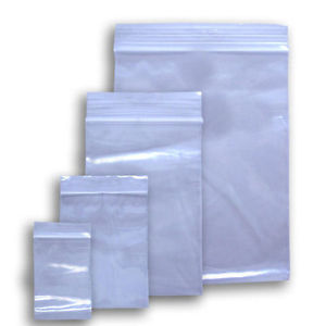Plain grip seal bags