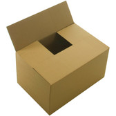 "Single wall cardboard boxes 16 x 8 x 6.5"" (406 x 203 x 165mm)"