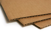 Single wall cardboard layer pads 210 x 297mm 'A4' size (100 pack)