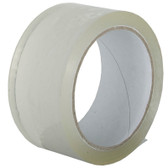 Clear polypropylene acrylic adhesive packaging tape 75mm x 66m (24 Pack)