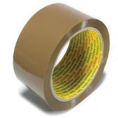 3M Scotch buff/brown polypropylene hot melt tape 48mm x 132m (36 pack)