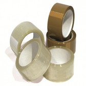 Monta clear low noise solvent tape 50mm x 66m (36 pack)