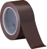 3M Scotch buff/brown PVC vinyl tape 75mm x 66m (24 pack)