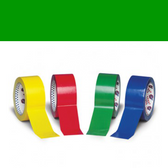 Green polypropylene tape 12mm x 66m (144 pack)