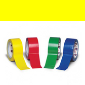 Yellow polypropylene tape 12mm x 66m (144 pack)