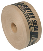 Rienforced brown gummed paper tape better seal 70mm x 152m (6 pack)