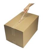 E-Z pull tab brown gummed paper tape 70mm x 152m (10 rolls)