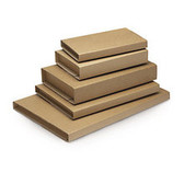 Corrugated book wraps 325 x 250 x 80mm C4 size (20 pack)
