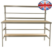 Economy packing station W180cm x D78cm x H150cm