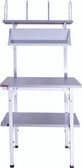 Packing station complete space saver packing station W80cm x D80cm x H162-184cm