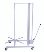 Packing station 1200mm vertical, mobile cutter H162cm x L117cm x D86cm
