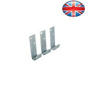 Packing station counter roll wall brackets for all models (3 pack)