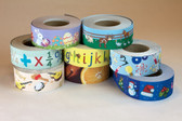 Intensive 'Edge-It' border roll decorative multipack 100% recycled (8 rolls per pack)