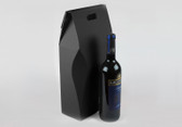 Black two bottle gift box