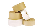Pack of 24 rolls of Brown gummed paper tape rolls 50mm x 200m
