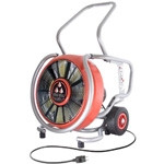 "LEADER EDS230 18"" PPV Electric Fan - 14,203 CFM open air - AMCA Airflow 12,107 CFM - Single Speed - 1.5 hp - 110 V"