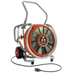 "LEADER EVS230 18"" PPV Electric Fan - 14,254 CFM open air - AMCA airflow 12,157 - Variable Speed - 1.5 hp - 110 V"