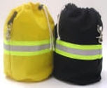 ROPE BAGS WITH REFLECTIVE STRIPPING - LARGE