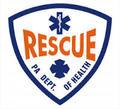 "4"" PA D.O.H. Rescue Window Sticker"