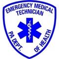 "4"" PA D.O.H. EMT Window Sticker"