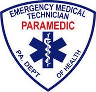 "4"" PA D.O.H. PARAMEDIC Window Sticker"