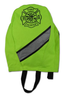 DELUXE SCBA MASK BAG FLUORESCENT YELLOW