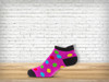 Pink Polka Anklet