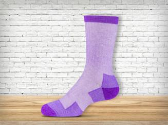 Purple Jean Sock