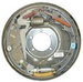 Complete LH Hydraulic brake backer, free backing Dexter