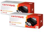 2 x Compatible Canon CRG-737 / 9435B002 Black Toner Cartridge