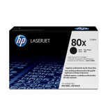 High Capacity HP 80X Original Black Toner Cartridge (CF280X)