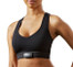 Sensoria Fitness biometric smart Sports bra with cardiac sensor and heart rate monitor (zoom front)