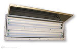 LED 4' (2) Lamp Inside Access Paint Booth Light Fixture