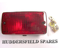 Standard rear fog lamp