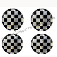 Checker overstickers