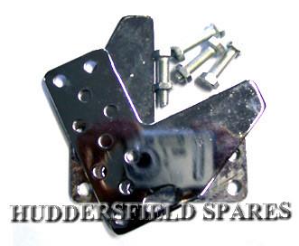 Seat adjuster brackets