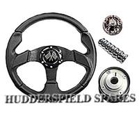 "SPECIAL OFFER 13"" Black race wheel kit for classic mini"
