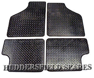 rubber 4pce overmats