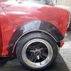 Miglia wheel arches front