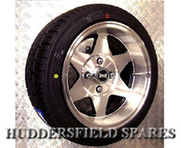 .SPECIAL OFFER: 7x13 Superstar alloy wheel package for Classic Mini